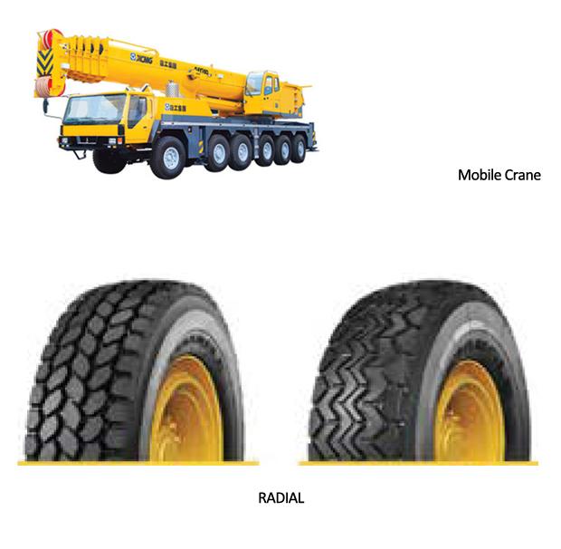 Mobile Crane Tire – Radial